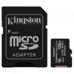Карта памяти Kingston 128GB micSDXC class 10 A1 Canvas Select Plus (SDCS2/128GB)