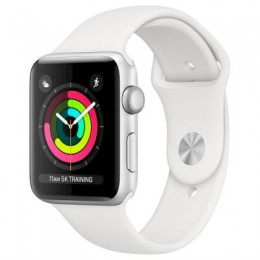 Смарт-часы Apple Watch Series 3 GPS, 38mm Silver Aluminium Case with White Sp (MTEY2GK/A)